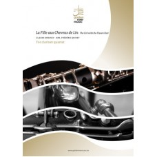 The girl with the flaxen hair - La fille aux cheveux de lin - clarinet quartet