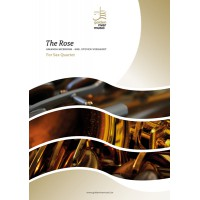 The Rose - sax quartet