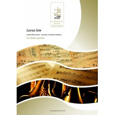 Locus Iste - brass quartet