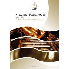 Five pieces for brass - euphonium