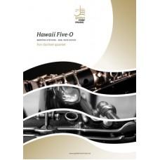 Hawaii Five-O - clarinet quartet