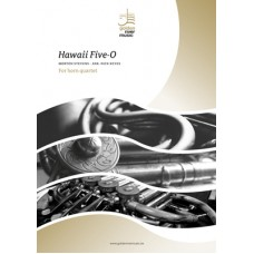Hawaii Five-O - horn quartet