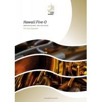 Hawaii Five-O - sax quartet