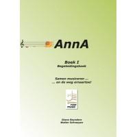 AnnA I - begeleidingsboek (mét audio-download code) (NU BESCHIKBAAR)