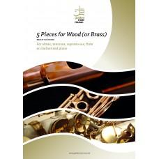 Five pieces for wood - alt sax