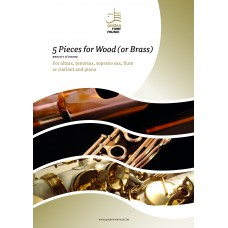 Five pieces for wood - tenor sax