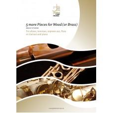 Five more pieces for wood - alt sax