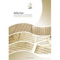 Bella Ciao - mixed choir SATB - opt. piano (score + 10x parts)