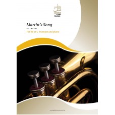 Martin's Song - for Bb or C trumpet & piano
