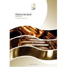 Glad to be back - brass ensemble