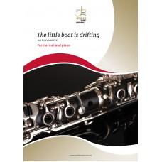 The little boat is drifting - klarinet