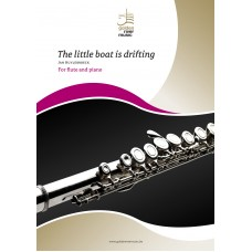 The little boat is drifting - flute