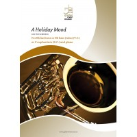 A holiday mood - trombone or C bass
