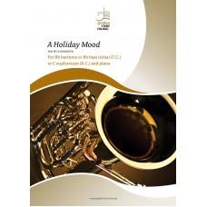 A holiday mood - Bb bariton - C euphonium