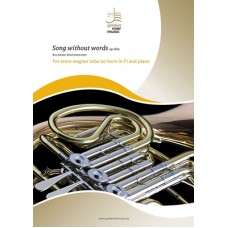 Song without words op.80a - for tenor wagner tuba (or horn in F) and piano