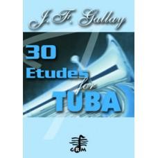 30 études - tuba