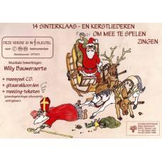 14 Kerst- en Sinterklaasliederen, F-sleutel, met CD