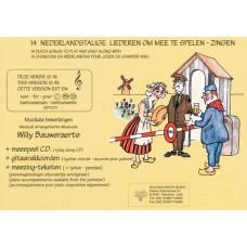 14 Nederlandstalige Volksliederen, F-sleutel met CD