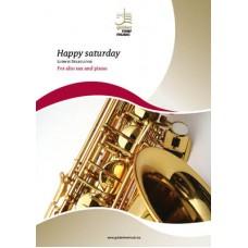 Happy Saturday - Eb sax