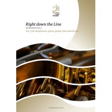 Right down the line