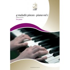 4 Melodic Pieces - Piano Vol. 1