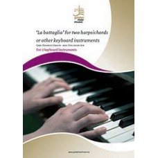 'La battaglia' for two harpsichords or other keyboard instruments