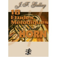 18 études mélodiques pour cor opus 53 - horn