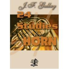24 études - horn