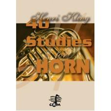 40 studies - horn