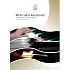 Pachelbel (Canon & Gigue) for four Hands - digitale versie