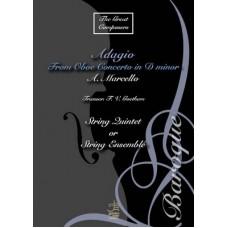 Adagio from oboe concerto in D minor