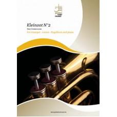 Kleinoot n°2 - trompet - cornet - flugelhorn en piano