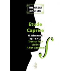 Etude-Caprice op.18 n° 2 (orig. for solo violin)