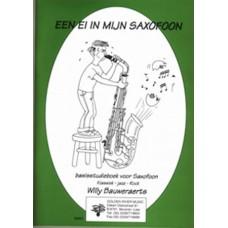 Ei in mijn saxofoon, leerlingenboek + CD
