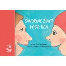 Sandrine zingt voor tien - leerlingenboek