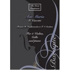 Ave Maria - 2 vlns, cello & pno