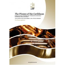 The Pirates of the Caribbean - brass quintet