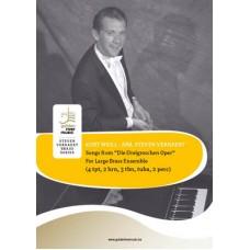 """Songs from """"Die Dreigroschenoper"""" - Large Brass Ensemble"""