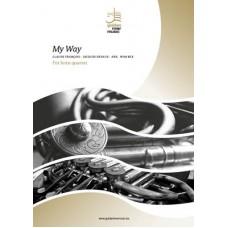 My Way - horn quartet