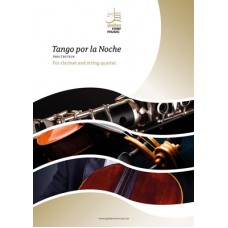 Tango por la noche - clarinet and string quartet