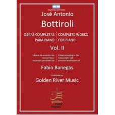 Obras completas para piano - Complete piano works volume II