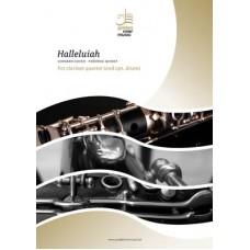 Hallelujah - clarinet quartet (+ opt. drum)