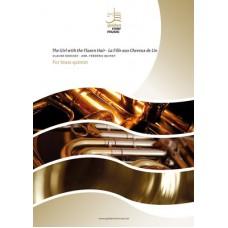 The girl with the flaxen hair - La fille aux cheveux de lin - brass quintet