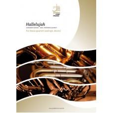 Hallelujah - brass quartet (+ opt. drum)