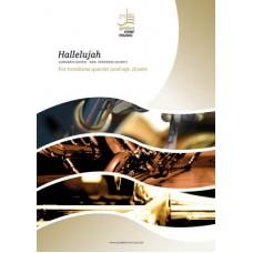 Hallelujah - trombone quartet (+ opt. drum)
