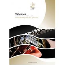 Hallelujah - woodwind quintet (+ opt. drum)