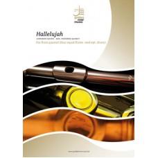 Hallelujah - flute quartet (4 equal flutes) (+opt. drums)