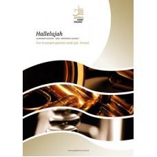 Hallelujah - trumpet quintet (+opt. drum)