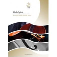 Hallelujah - string quartet (+opt. drum)