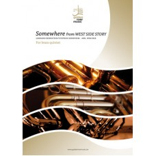 Somewhere (uit West Side Story) - brass quintet